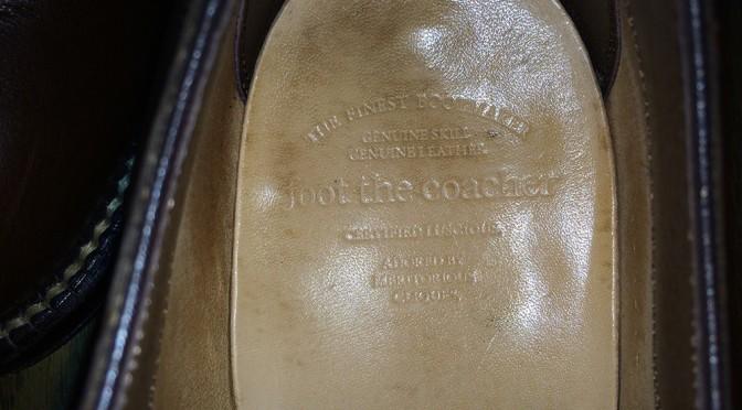 美しい靴 Foot the coacher(フットザコーチャー) サービスマンシューズ