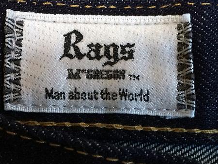 14AWラグスマックレガーのデニムを乾燥機に入れた結果(RagsMcgregor STRAIGHT 5P DENIM PANTS 2014AW MODEL INDIGO )